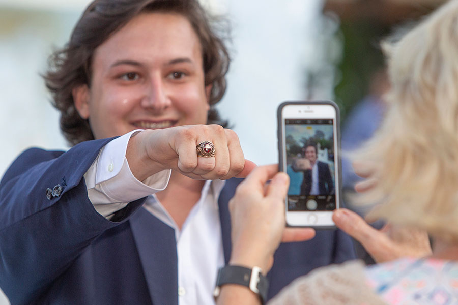 FSU holds its annual President's Ring Ceremony April 18, 2019. (FSU Photography Services)