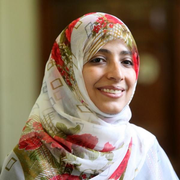 Nobel Peace laureate Tawakkol Karman