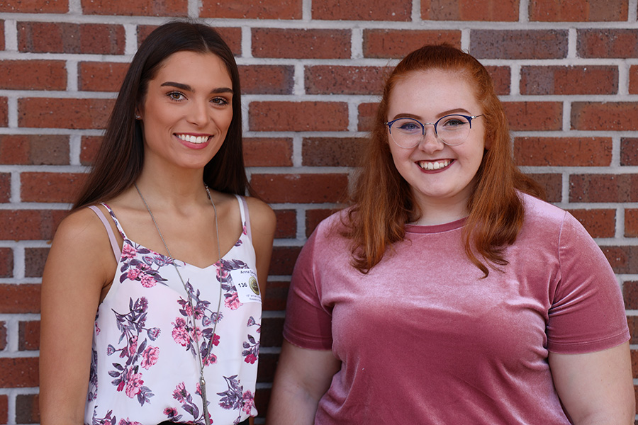 Freshmen Anna DeJonge and Molly Walters took on closing the accessibility gap at The Grove Museum as a part of their undergraduate research project.