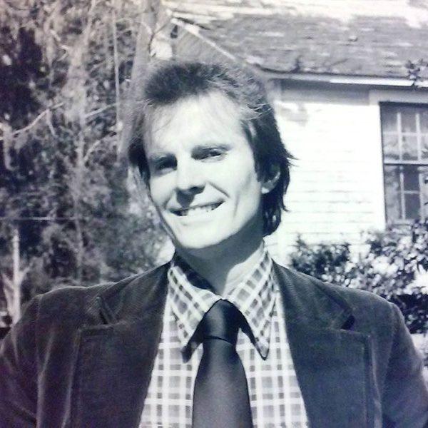 David Kirby in his early teaching days. (Barbara Hamby)