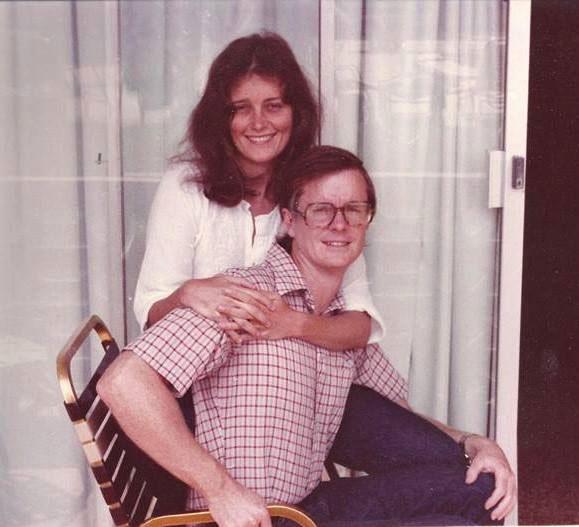 David Kirby and Barbara Hamby. (Barbara Hamby)