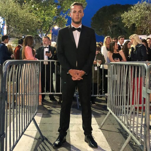 "Alex McFry, a graduate student at FSU's film school, was invited to the Cannes Film Festival to show his film ""Heads Up."""