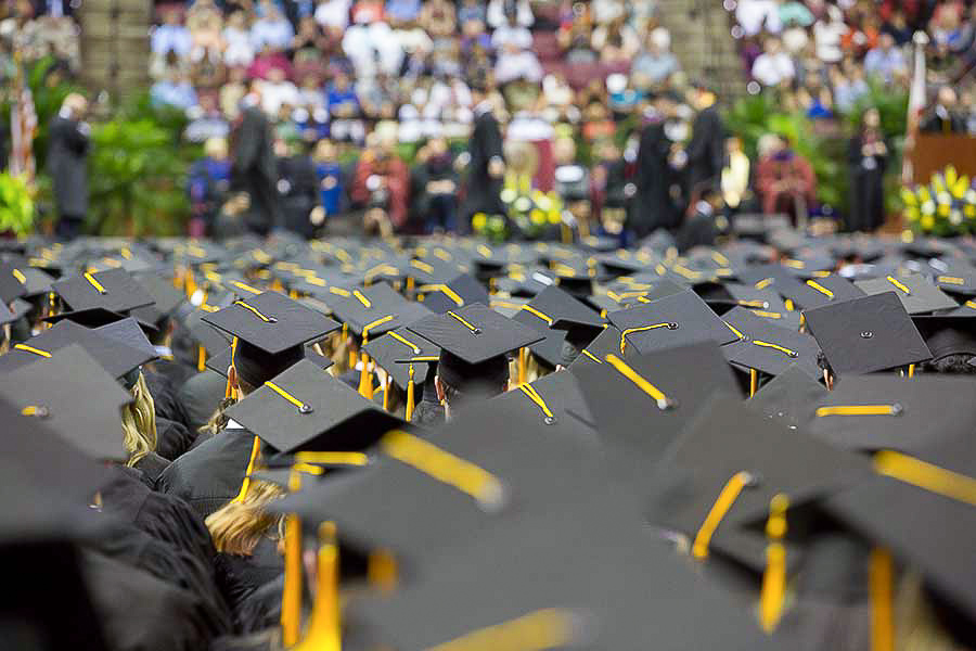 Florida State University's 2019 spring commencement will include the first graduating class from the Jim Moran School of Entrepreneurship.