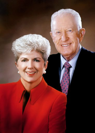 Jan Moran and the late Jim Moran