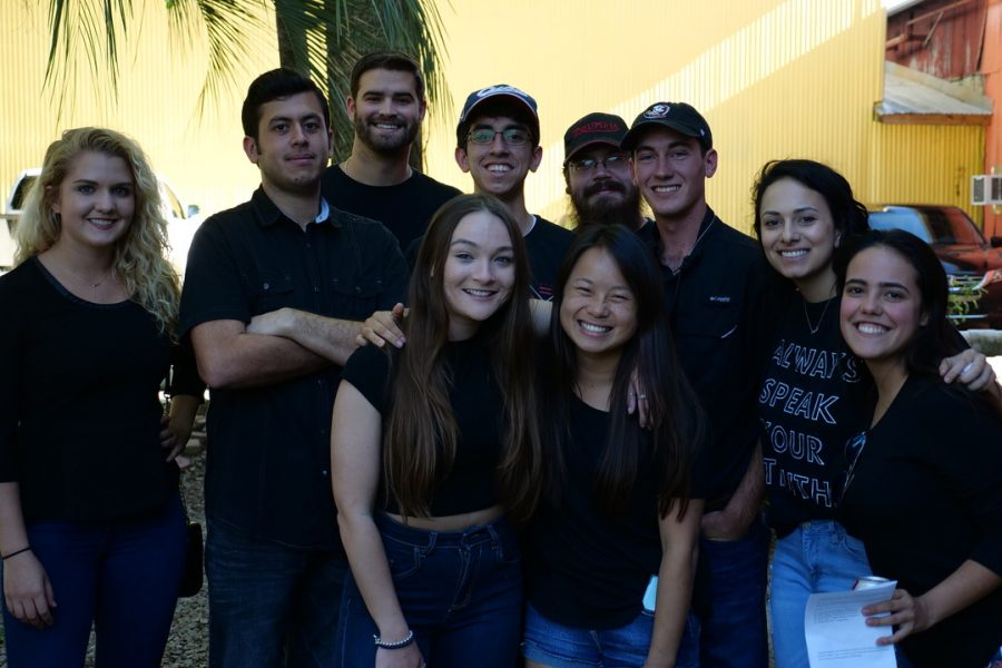 The Florida Climate Change Collaboration involved more than 100 students.