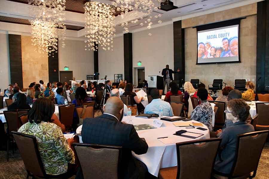 Child welfare professionals from around the state gathered at Florida State University as the Florida Institute for Child Welfare convened a Symposium on Racial Equity May 9-10 in Tallahassee. (Lauren Antista)