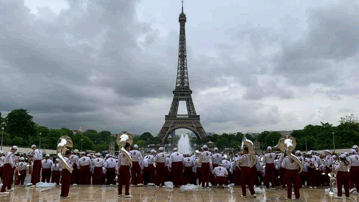 The FSU Marching Chiefs joined world leaders to commemorate the 75th anniversary of D-Day in the Normandy region of France. (June 6, 2019)