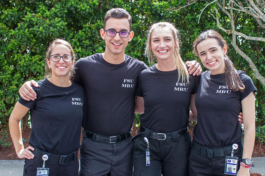 Lauren Aronson, Juan Diaz-Hernandez, Taylor Ryan and Sedona Robrahn