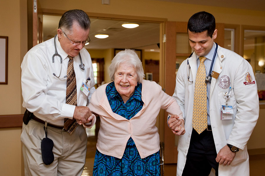 The FSU College of Medicine has partnered with national, state and local stakeholders to strengthen the capacity of community organizations to improve care and support for Florida's aging population.