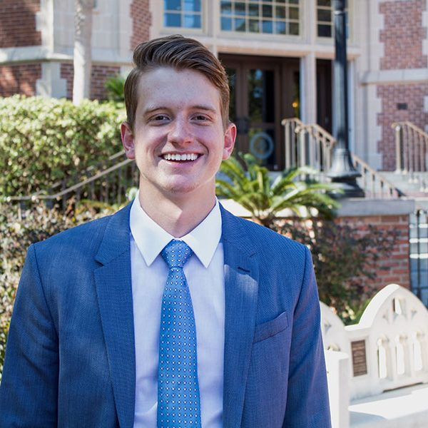 William Vince Dewar ('19) is one of just 58 recipients nationwide of this year's Phi Kappa Phi Fellowship.