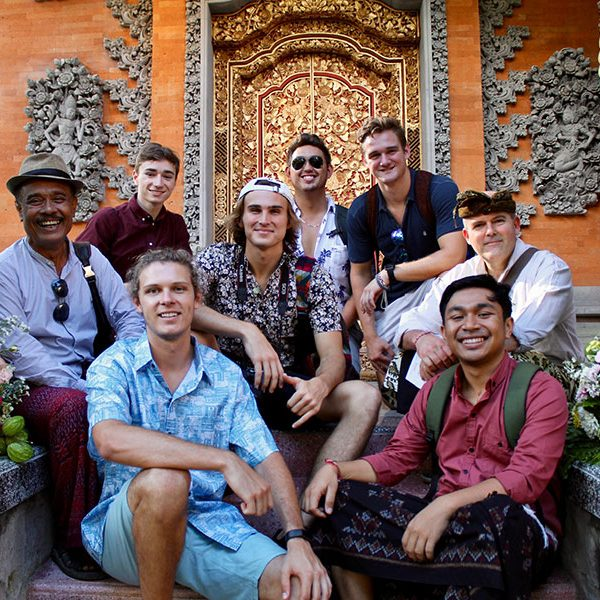 Charlie Gardner, along with other FSU students, traveled to Bali, Indonesia, this summer as part of the Social Innovation and Entrepreneurship Immersion program. (Charlie Gardner)