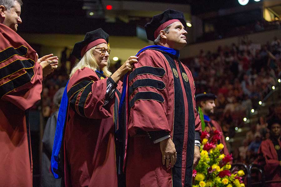 Florida State University summer commencement Friday, Aug. 2, and Saturday, Aug. 3, 2019, at the Donald L. Tucker Civic Center. (FSU Photography Services)