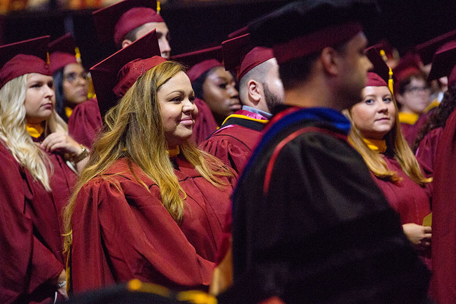 Florida State University celebrates 2019 Summer Commencement Aug. 2-3 at the Donald L. Tucker Civic Center. (FSU Photography Services)