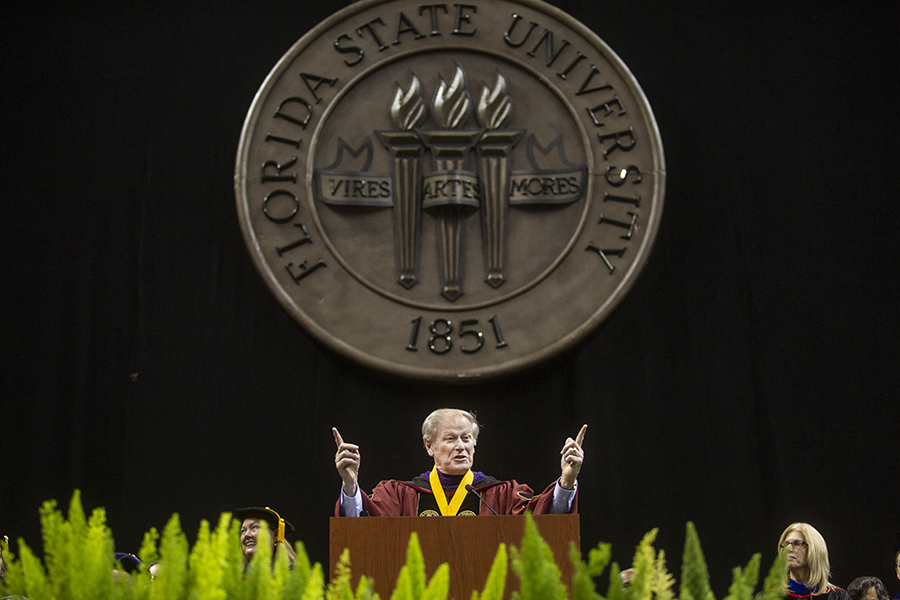 FSU introduces students to university traditions at New Student Convocation - Florida State University News