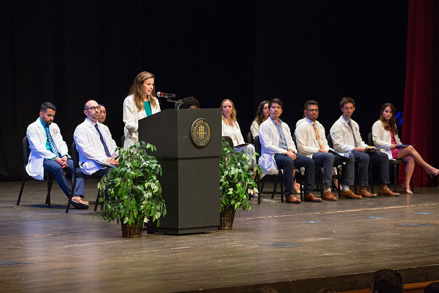 College of Medicine White Coat Ceremony, Aug. 9, 2019. (FSU Photography Services)
