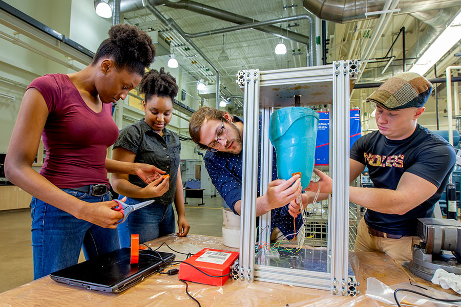 The FAMU-FSU College of Engineering is the joint engineering college for Florida State and Florida A&M Universities, the only such shared college in the nation. (Mark Wallheiser/FAMU-FSU Engineering)