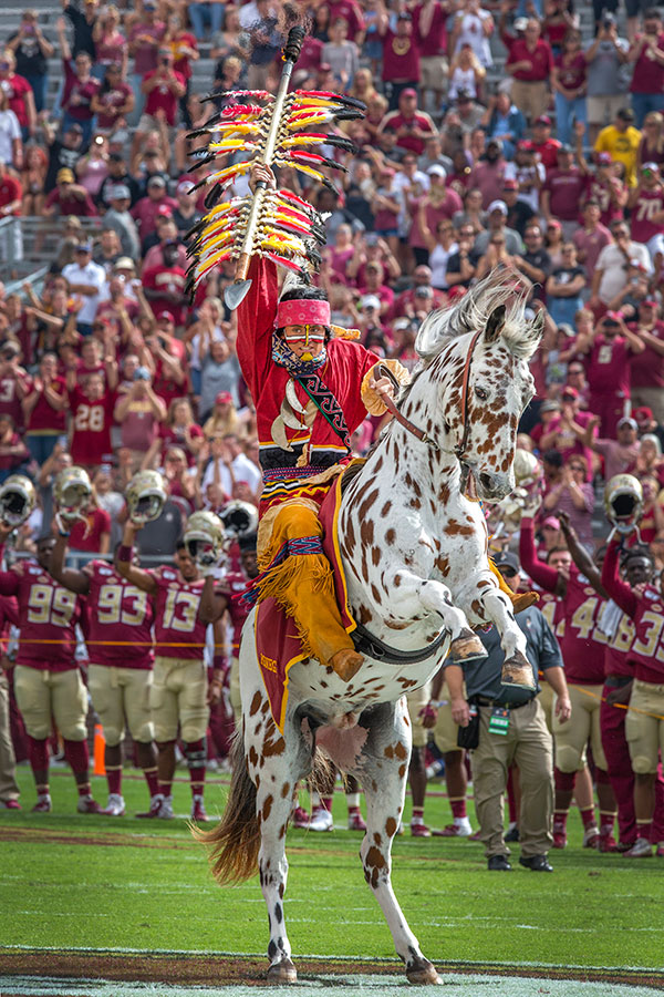 Florida State celebrates Homecoming during the Syracuse football game Saturday, Oct. 26, 2019. (FSU Photography Services)