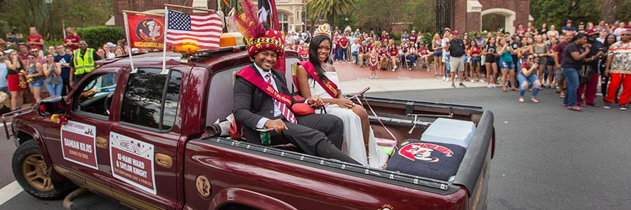 Florida State University Homecoming Parade, Oct. 25, 2019. (FSU Photography Services)