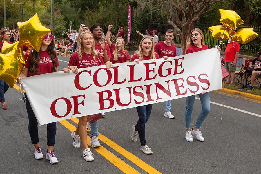 Florida State University Homecoming Parade, Oct. 25, 2019. (FSU Photography Services)