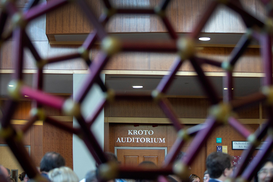 The Kroto auditorium was dedicated on Oct. 4, 2019.