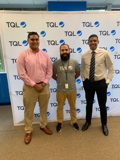 Senior Matthew Hardy participated in the FSUshadow program at Total Quality Logistics over the summer. (The Career Center)