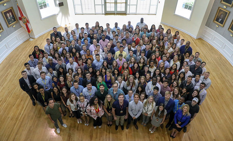 FSU College of Law students.