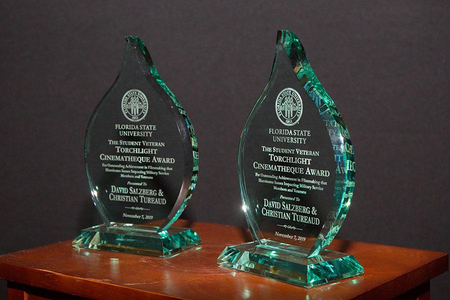FSU Student Veteran Torchlight Cinematheque Award for Outstanding Achievement in Filmmaking (FSU Photography Services)