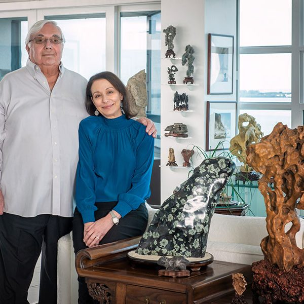Stanton B. Kaplan and Nancy W. Kaplan have gifted a major photography collection and fascinating collection of Asian scholars' rocks to The John and Mable Ringling Museum of Art in Sarasota.