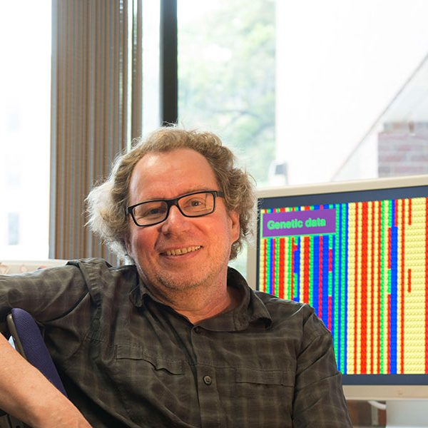 Peter Beerli is a professor of scientific computing at Florida State University. Photo by Ray Stanyard/College of Arts and Sciences