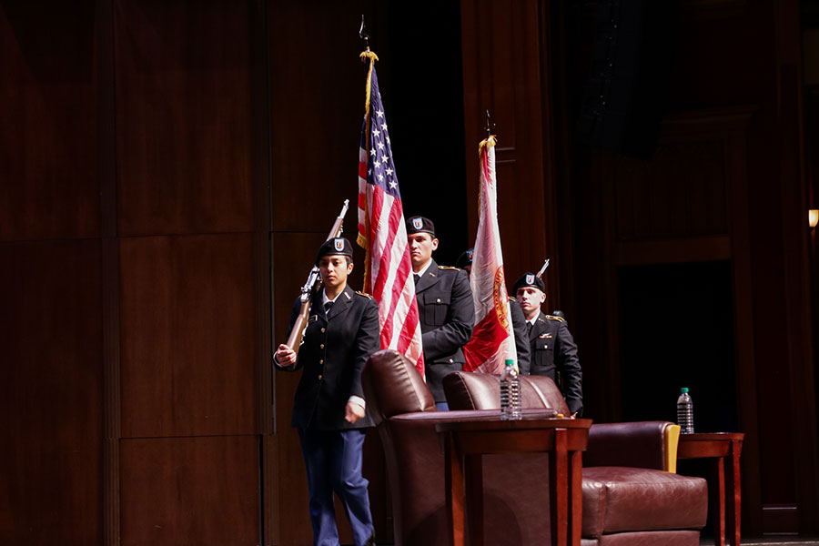 The Seminole Guard partook in the 32nd Annual MLK Commemoration Celebration. (Mia Weinand)