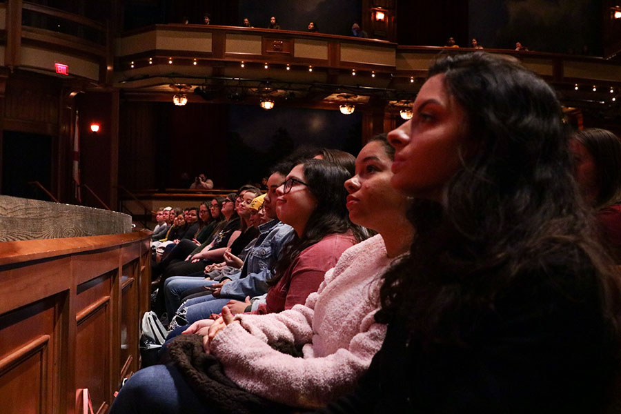 The 32nd Annual FSU MLK Week provided the campus with opportunities for celebration, service and dialogue on the civil rights movement and social justice issues in America today. (Mia Weinand)