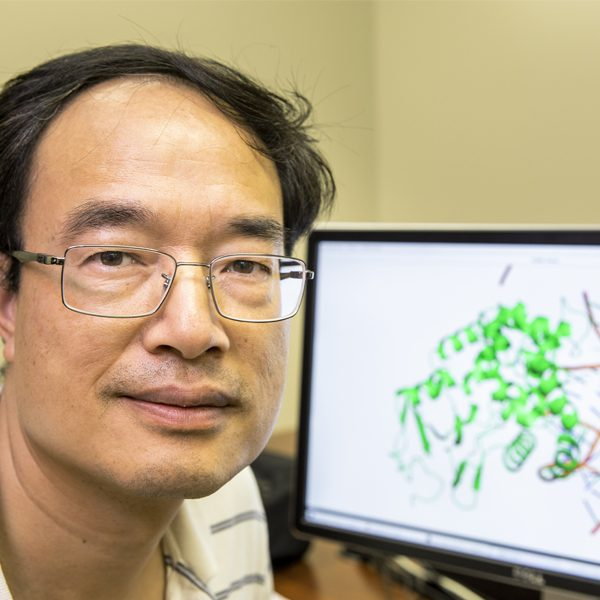 Professor Zucai Suo of the FSU College of Medicine. His research has established the mechanism responsible for how two widely used antiviral drugs inhibit viruses, which could create more treatment options for patients with HIV or hepatitis B.