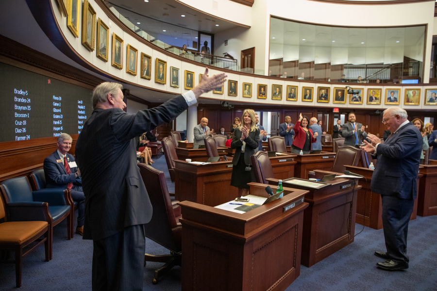President John Thrasher at the Capitol (FSU Photography Services)