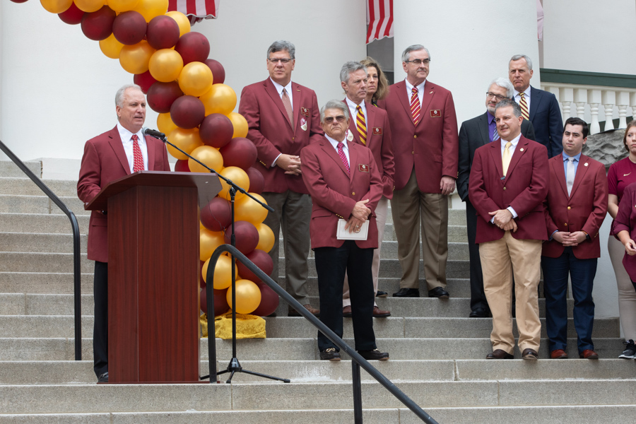 Chair of FSU Board of Trustees Ed Burr speaks at FSU Day at the Capitol 2020 (FSU Photography Services)