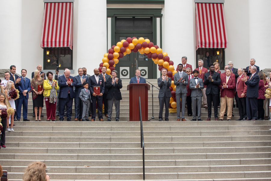 Presentations at FSU Day at the Capitol 2020 (FSU Photography Services)