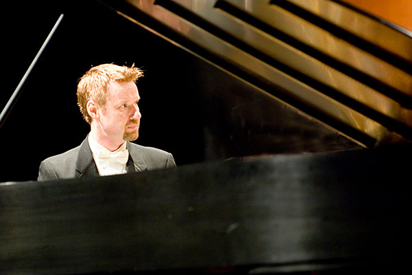 Professor of Piano Read Gainsford will perform eight separate concerts commemorating Beethoven's 250th birthday.