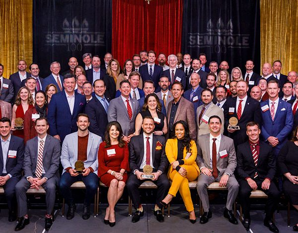 Owners of the 2020 Seminole 100 fastest-growing businesses. (Photo by Colin Hackley)