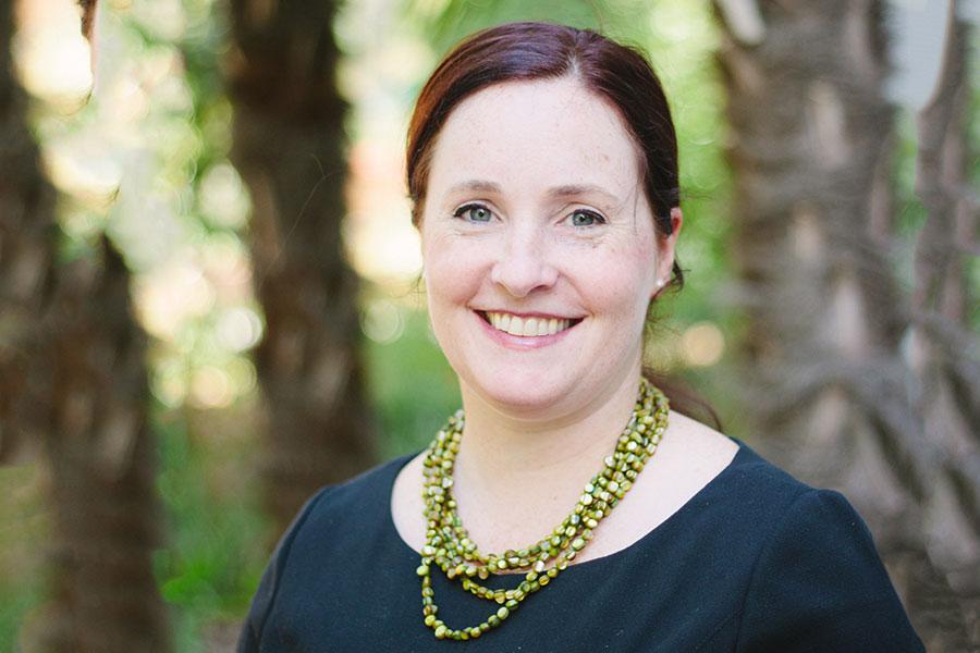 FSU Associate Professor Amanda Driscoll