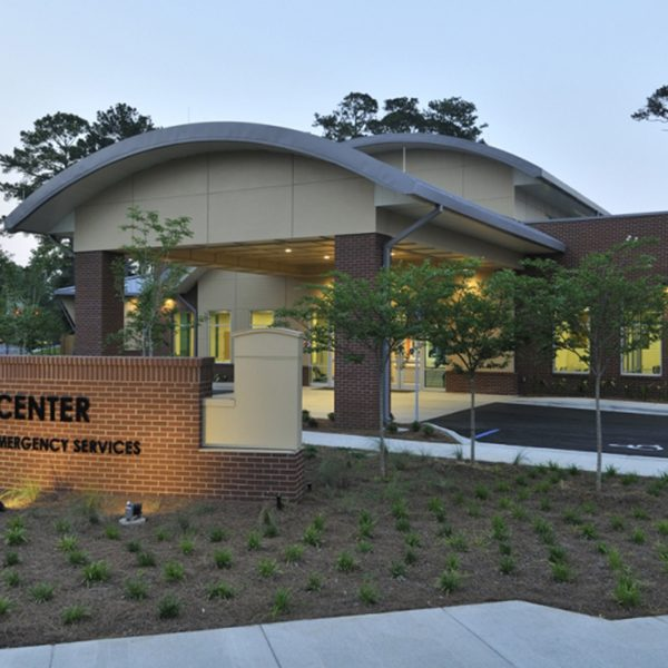 External view of the Kearney Center. Photo courtesy of Jill Pable