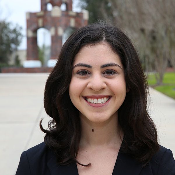 Jessica Dixon is the second consecutive Presidential Scholar at FSU to win the Goldwater Scholarship.