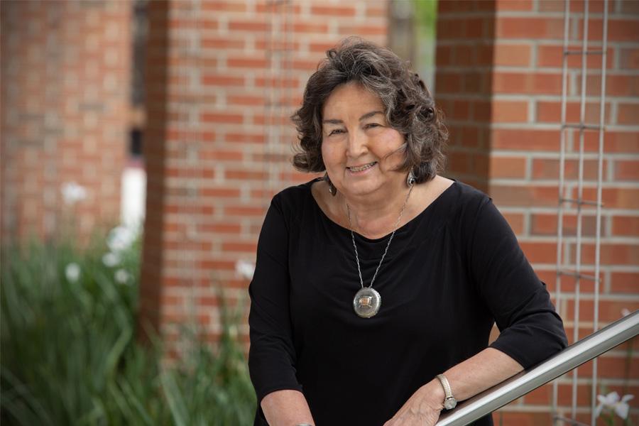 Professor Sharon Nicholson is the 2020-2021 Robert O. Lawton Distinguished Professor. (FSU Photography Services)