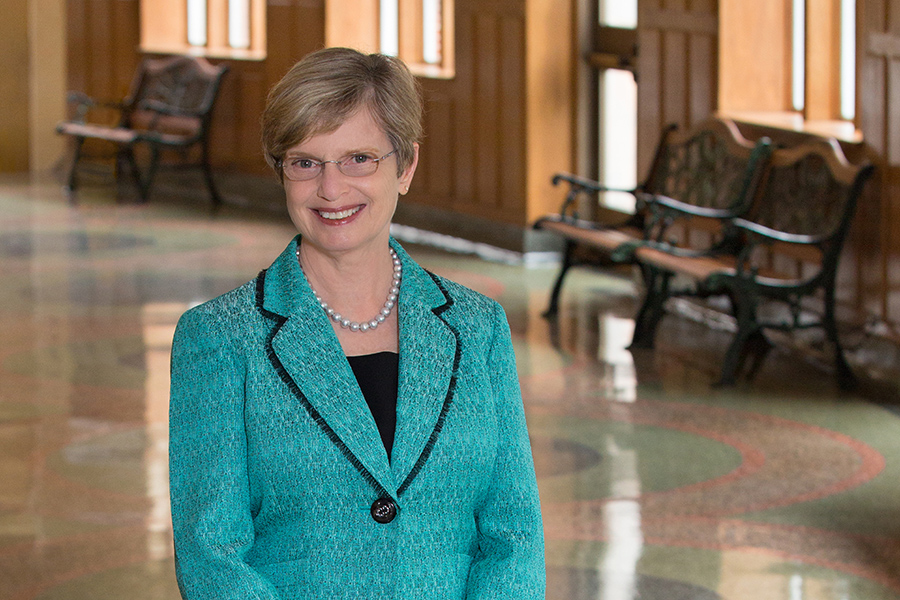 Patricia Flowers has served seven years as the dean of the College of Music.