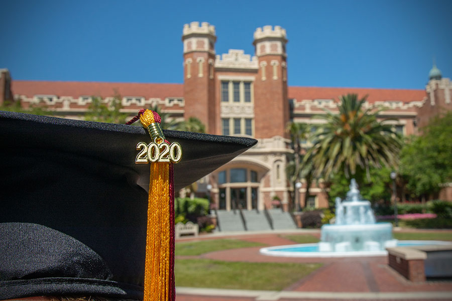 Florida State University's Class of 2020 celebrated commencement virtually for the first time in the university's history. (FSU Photography Services)