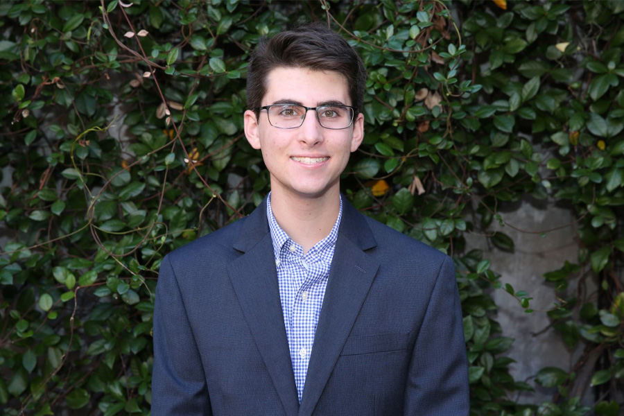 Rising junior Jonathan Marcus is the latest Florida State University student to receive an Ernest F. Hollings Undergraduate Scholarship from the National Oceanic and Atmospheric Administration (NOAA).