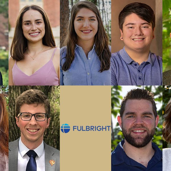 Nine Florida State University graduate students and recent alumni will partake in the Fulbright U.S. Student Program during the 2020-2021 academic year.