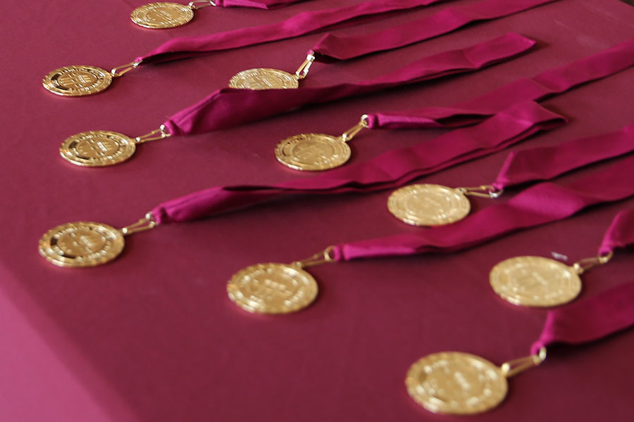 FSU awarded 383 honors medallions to Spring 2020 graduates. (Photo by Andre Myers, FSU Undergraduate Studies)