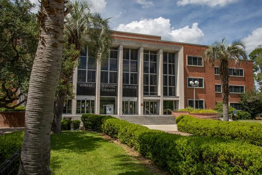 Robert Manning Strozier Library. (FSU Photography Services)