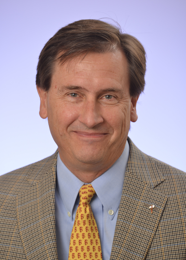 Tom Jennings has served as FSU's vice president for University Advancement since 2010.