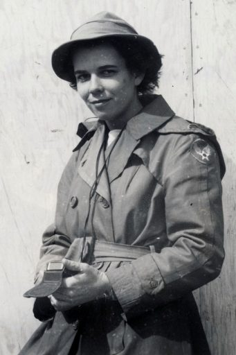 Charlotte Mansfield. Courtesy of the Institute on World War II and the Human Experience.