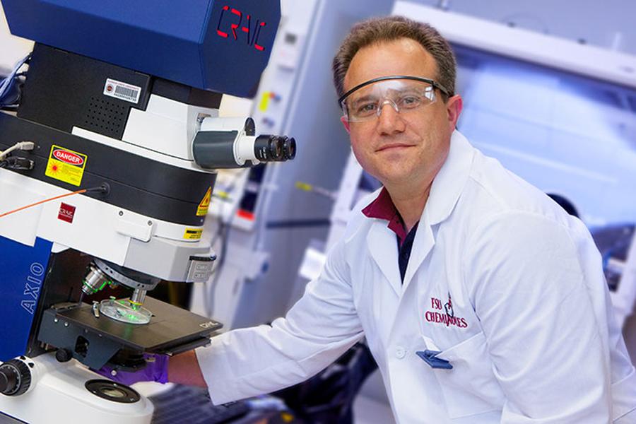 Thomas E. Albrecht-Schmitt, Gregory R. Choppin Professor of Chemistry.